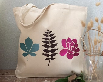 Fall Wedding Tote - Fall Leaves