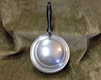 Queen Art Pewter Silent Butler, Danish Quality Pewter, Made in USA, Pewter Crumb Catcher,