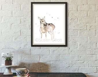 Brown Deer Original Artwork