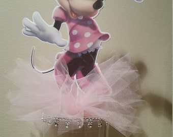 Pink Minnie Mouse Favor or Centerpiece