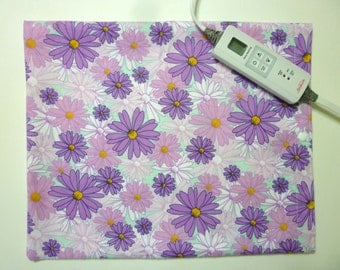 Heating Pad Cover ~ Electric Heating Pad Cover ~ Fits 12 x 15 ~ Daisy