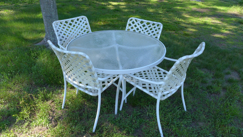 SALE Org Tropitone Patio Furniture Set Table 48