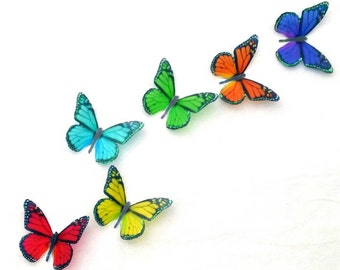 Wall Decals - window suncatchers -  butterfly wall decals - mirror decals -stick on butterflies -scrapbooking