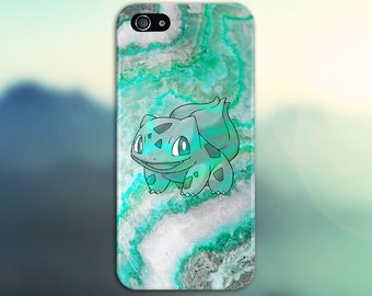 Bulbasaur Green Marble x Stone Phone Case Texture iPhone 6 iPhone 6 Plus Tough iPhone Case Galaxy s8 Samsung Galaxy Case Printed CASE ESCAPE