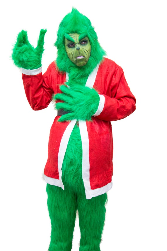Good quality costume grinch fur set but no by kollectivebykellyo