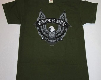 GREEN DAY EAGLE T-shirt From 2003, Punk Rock