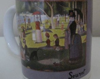 art MUG (Georges Seurat from Art Institute of Chicago)