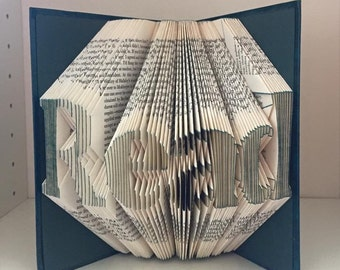 Read folded book art