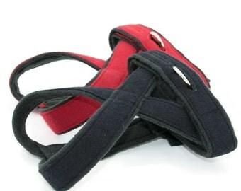 No-Choke, Fleece-Lined Dog Harness for Small Dogs, Chihuahua, Yorkie, Maltese, Poodle,