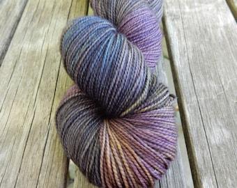 Raven - Hand Dyed Sock Yarn
