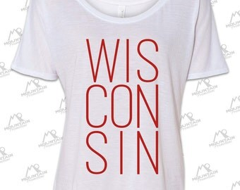 Wisconsin Ladies Tee