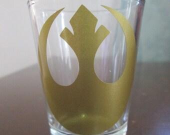 STAR WARS REBEL Alliance Logo Shot Glass