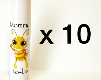 Mommy To Bee Baby Shower Favors 10 Pack (can be personalized!)