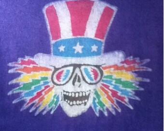 Uncle Sam Custom Batik Tshirt