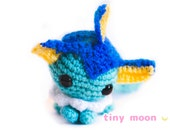 Vaporeon Amigurumi--- READY TO SHIP