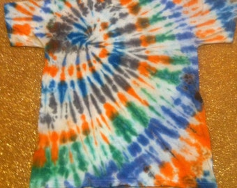 Kids' Size Large Tie Dyed T-Shirt