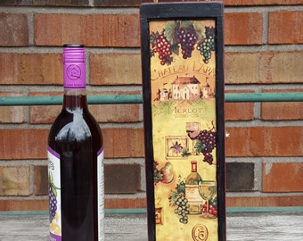 Painted Wine Box