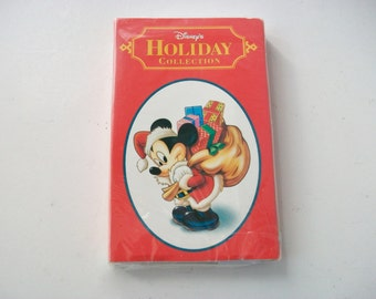 Disney's Holiday Collection Audio Cassette Tape, Classic Christmas Songs, New Cassette Tape, Holiday Music