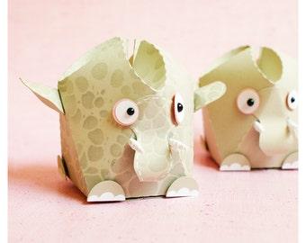 "plotterdatei - gift box ""little elephant"""