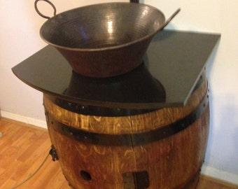 Wine Barrel Sink Vanity