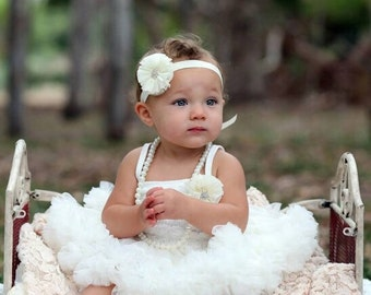Girls first birthday outfit.  First birthday outfit girl. 2nd Birthday outfit. Tutu dress. Lace petti. Ruffle dress. Birthday outfit