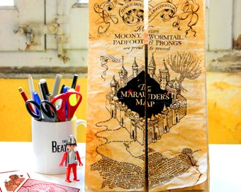 The Marauder Map Replica - Extremely detailed reproduction!