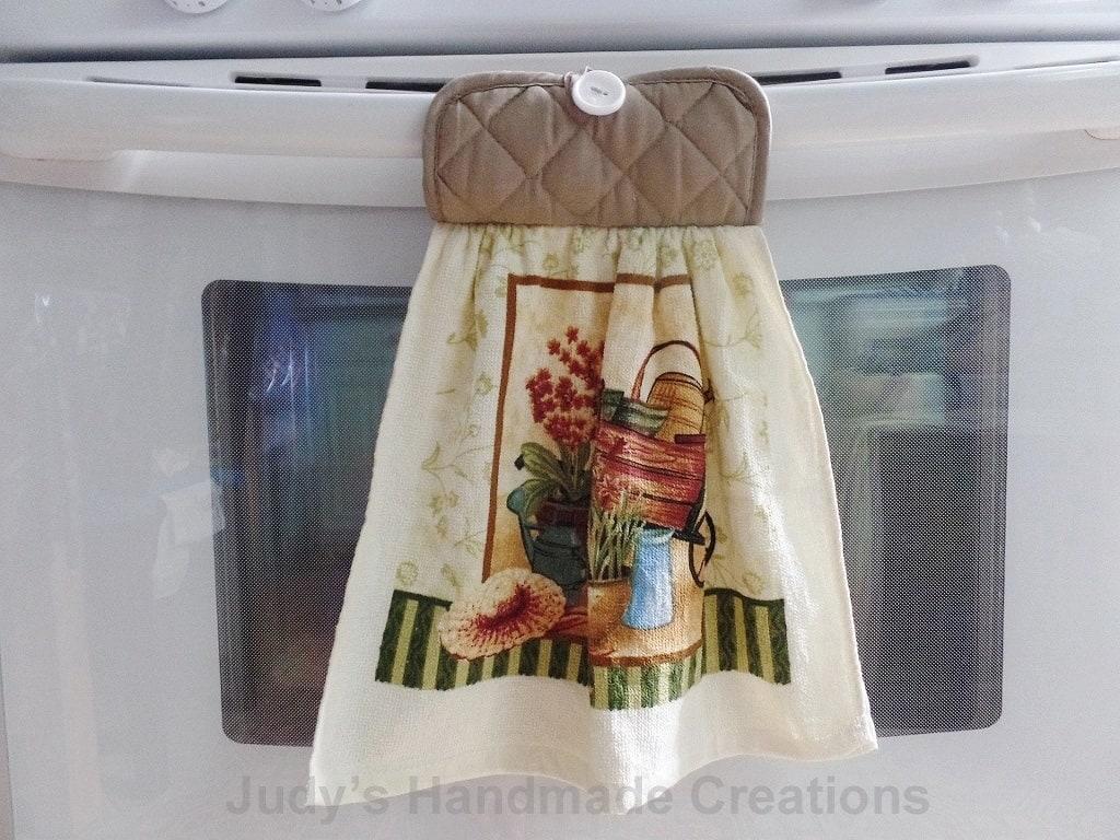 Hanging Kitchen Towel Tan Hanging Towel Kitchen Hand Towel
