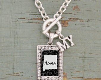 My Home New Mexico Toggle Necklace - 57583NM