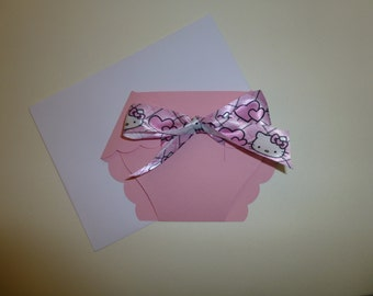Hello Kitty Baby Shower Card