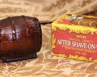 Vintage Avon On Tap After Shave Bottle Vintage Avon Decanter Collectible Avon Bottle. Art Deco