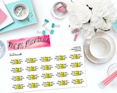 "MCM MANTRAS: ""Sometimes you have to make your own sunshine"" Paper Planner Stickers!"