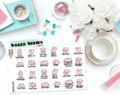 CAN'T EVEN PIGLETS Paper Planner Stickers!