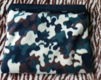 Camouflage Fleece Snuggle Sack for Hedgehogs/Rats/Guinea Pigs/Rabbits/Sugar Gliders
