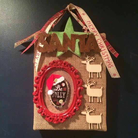 Items similar to christmas sale rustic christmas decor for Cheap christmas decorations sale