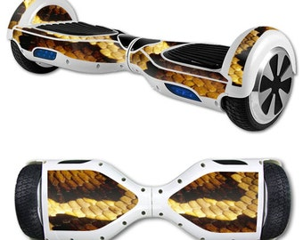 Skin Decal Wrap for Self Balancing Scooter Hoverboard unicycle Python