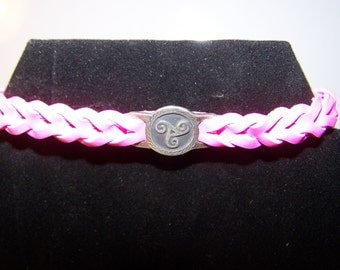 Celtic Symbol Adjustable Leather Bracelet