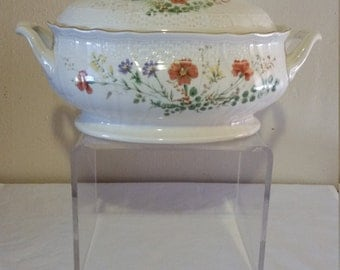 Mikasa Margaux Fine Ivory Tureen with Notch in Lid