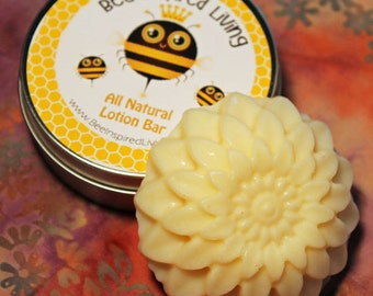 Lotion Bar with Cocoa Butter - Solid Lotion - Oregon Beeswax Lotion Bar - All Natural Body Product
