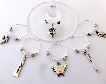 Dentist Wine Charms