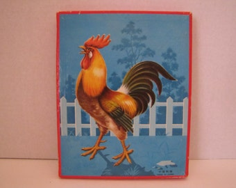 1960s Animal Wooden Puzzle (WB 220)