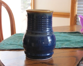 Midnight Blue Handle- less Mug