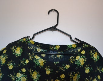Vintage Floral Dress - Women's Fall Clothing