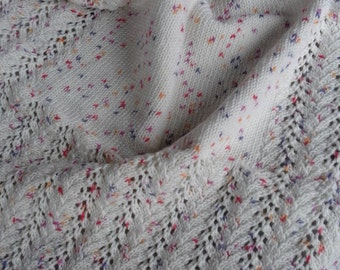 new handmade baby merino wool cover