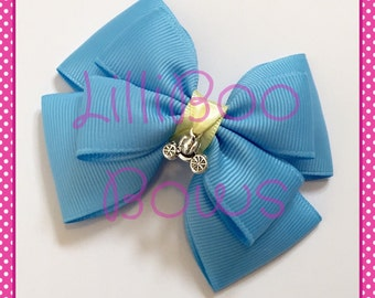 Handmade Cinderella Inspired Hair Bow