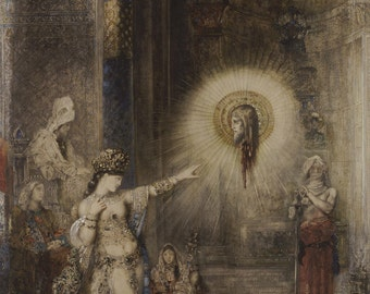 Gustave Moreau: The Apparition. Fine Art Print/Poster (007)