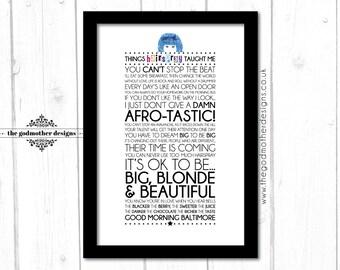 Hairspray! - Broadway Musical - Movie - Quotes & Lyrics - Typography - PRINT