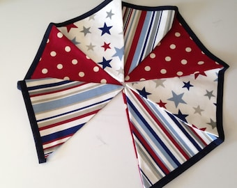 Spots, Stripes and Star Bunting