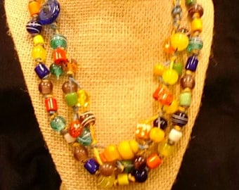 Shuk - handmade necklace, one of a kind