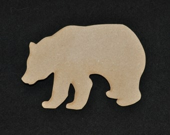 Bear Cutout California State Bear Black Bear Brown Bear for Sign Making