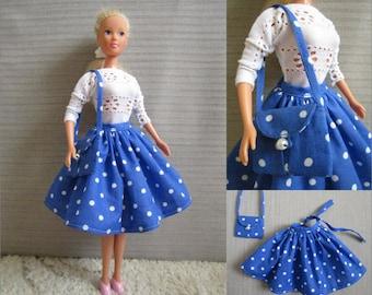 Barbie skirt + purse